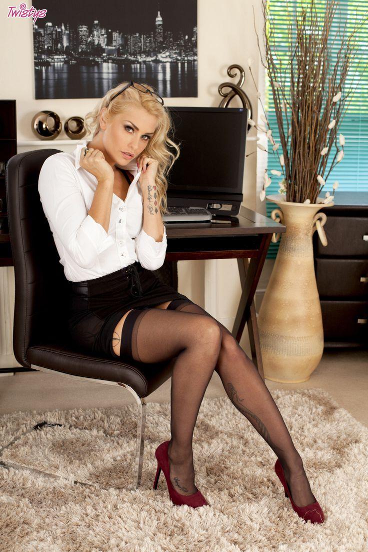 Sexy, Hot, Secretary, Sekretärin, Office, Büro, long Legs