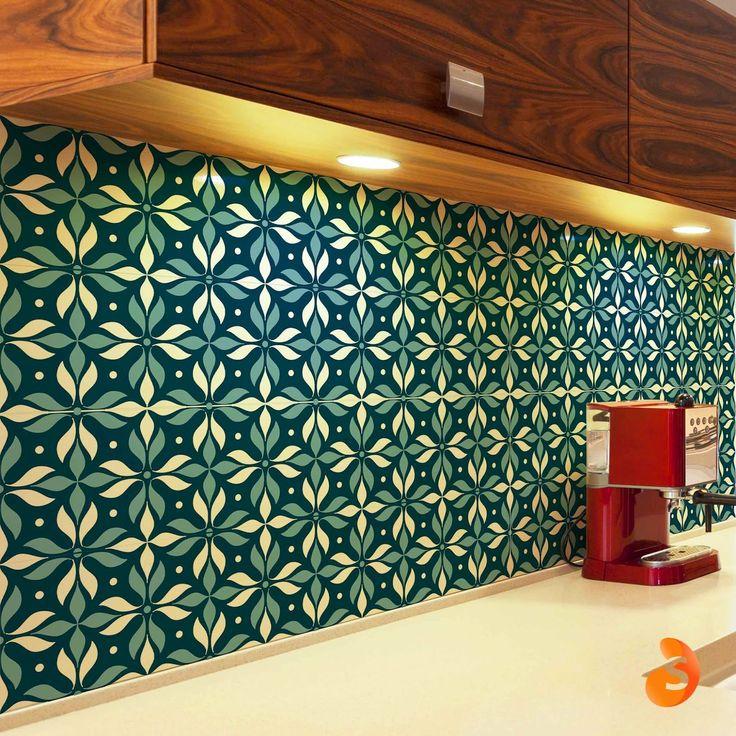 A praticidade do adesivo para repaginar as paredes