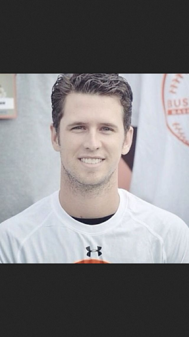 Buster Posey- oh my goodness....