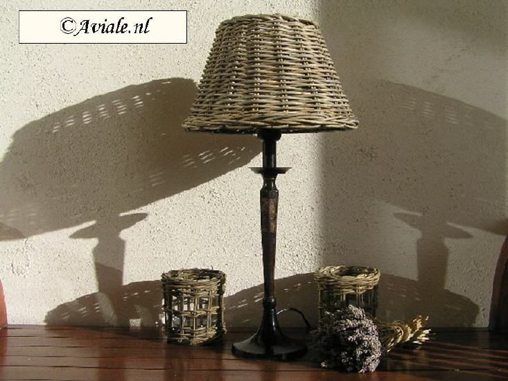 Rattan lampenkap: Stevig Metalen, Ideas For, Wicker, Huisdecoratie The, Ronde Rieten, The, Baskets, I