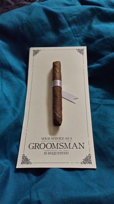 Groomsman Proposal Groomsman Pinterest Proposals And