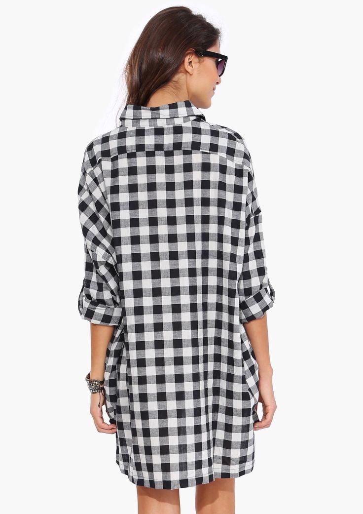 25 Best Ideas About Plaid Shirt Dresses On Pinterest