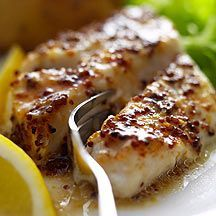 Codfish with Honey and Mustard