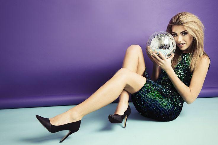Miss Foxy Backless Sequin Midi Dress