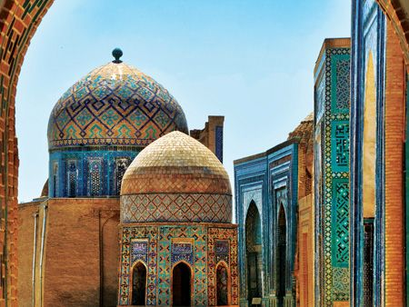 Samarkand, at the heart of the Silk Road