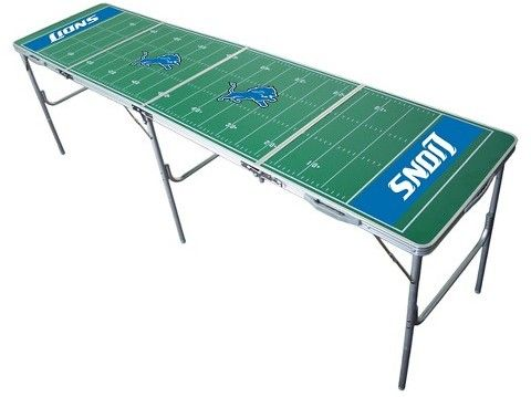 Wild Sports NFL Detroit Lions Tailgate Table - 2'x8'