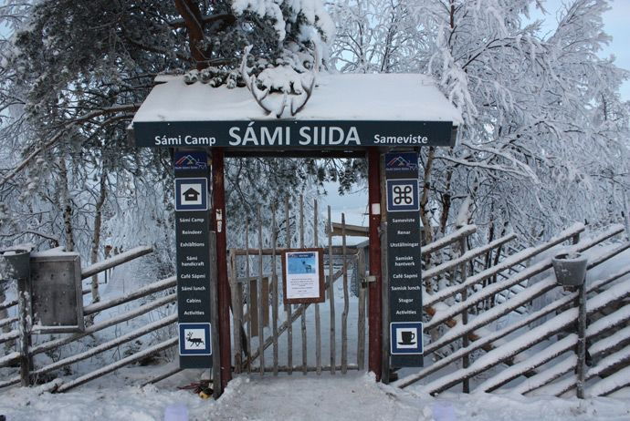 Catering largely to tourists who are in Swedish Lapland to visit the nearby Icehotel, Nutti Sámi Siida is a Sami 'camp' offering a whole sleighful of wintry outdoor activities.