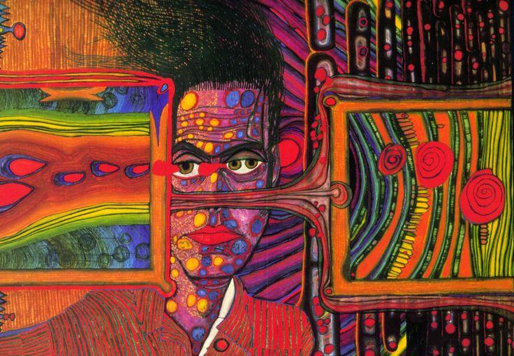Hundertwasser most famous paintings google search art for Architecture hundertwasser