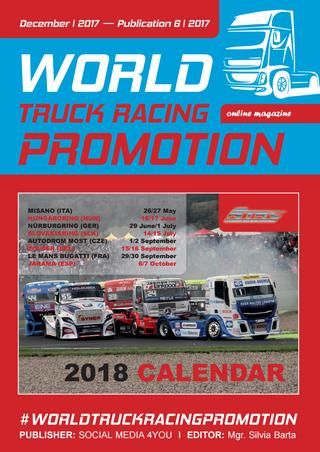 WORLD TRUCK RACING PROMOTION - december 2017  WORLD TRUCK RACING PROMOTION