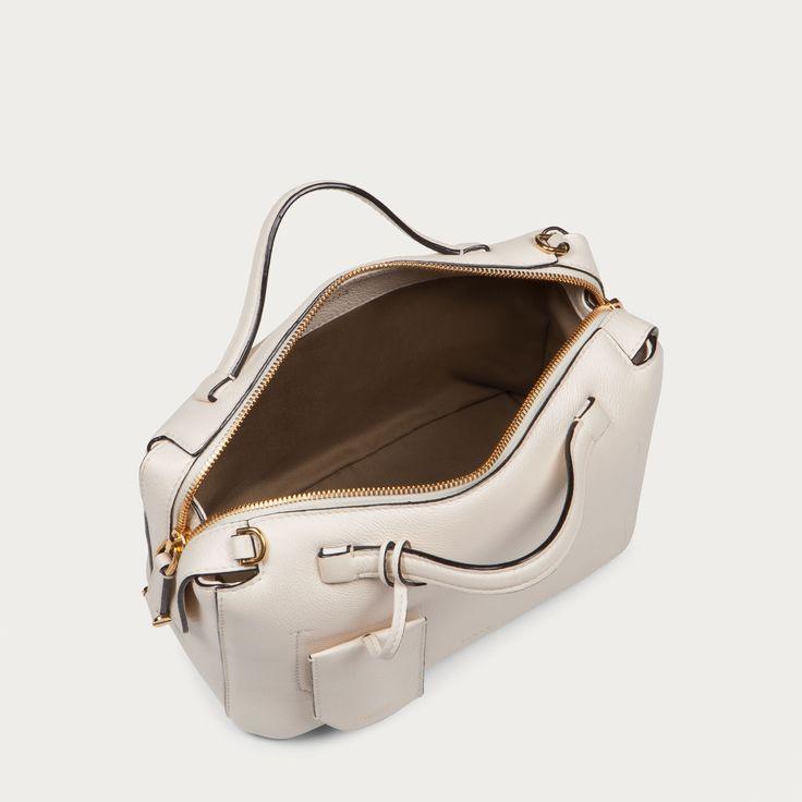Kissen Small Bone 15 Bovine Bowling Leather Shoulder Bag
