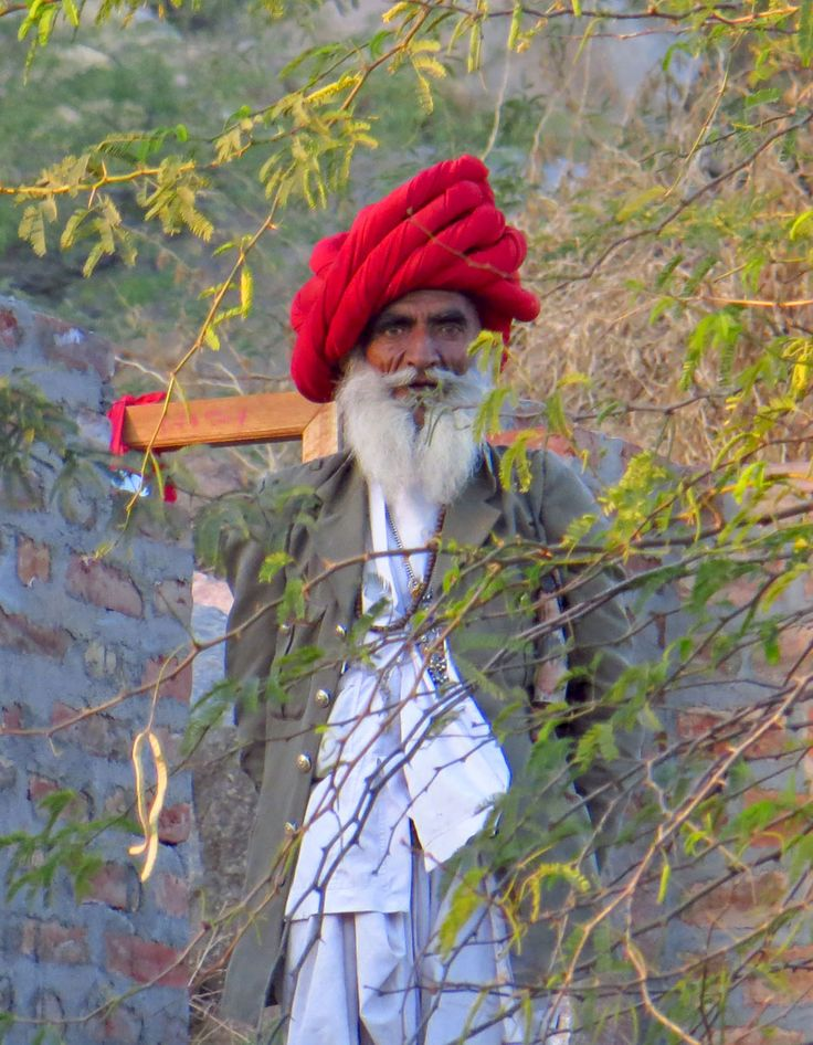 Rabari Tribal Man, Rajasthan