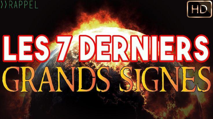 LES 7 DERNIERS GRANDS SIGNES DE LA FIN DES TEMPS | NADER ABOU ANAS