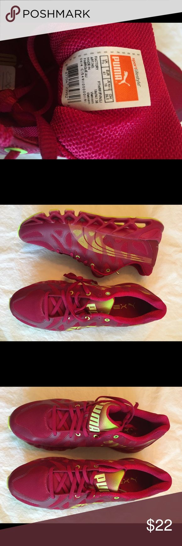 Women's Puma running shoes Brand new, ruby red running shoes Puma Shoes Athletic Shoes