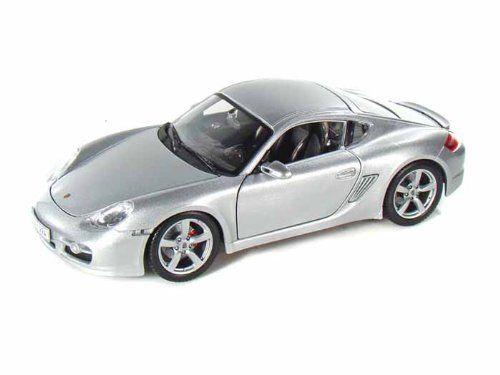 Maisto Special Edition - Porsche Cayman S Model Car 1:18 - Silver (31122)  Manufacturer: Maisto Enarxis Code: 018071 #toys #Maisto #miniature #cars #Porsche #Cayman