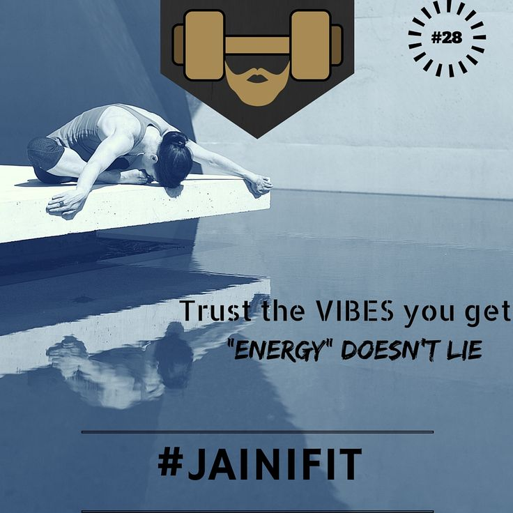 """""""Trust the vibes you get Energy doesn't lie"""" #jainifit #motivationalquotes #28 #mcm #wcw #fitfam #fitspo #fitness #gymtime #gainz #workout #getstrong #getfit #justdoit #bodybuilding #gym #cardio #ripped #beachbody #shredded #abs #sixpacks #muscle #wod #aesthetic #healthy #cleaneating #organic #foodporn #commitment"""