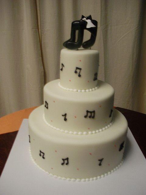 music notes wedding cake (4) | Flickr - Photo Sharing!