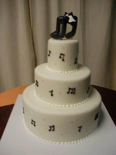 music notes wedding cake (4) | Flickr - Photo Sharing!