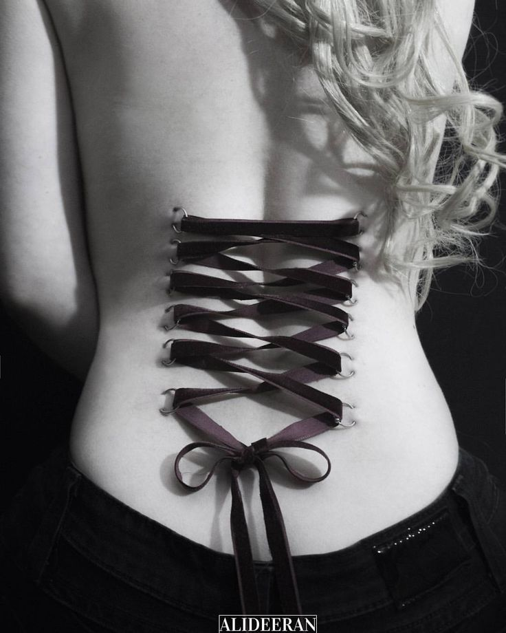 Corset piercing, ouch