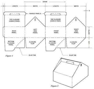 46 best 3D Geometric box templates images on Pinterest