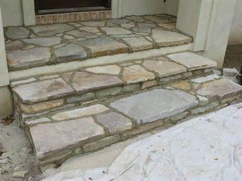 Flagstone Steps - Bing images   Flagstone patio, Patio ...