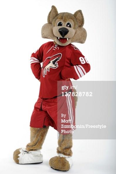 Coyotes Mascot Howler Plush