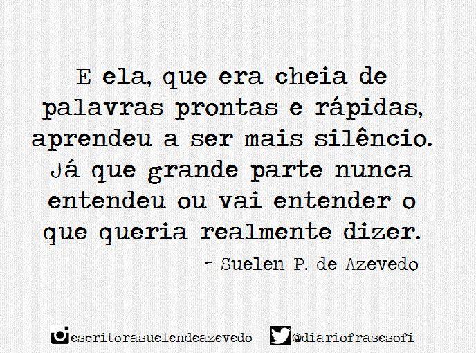 """Page: """"Diário de uma Sobrevivente"""". I Suelen P. de Azevedo (@diariofrasesofi) - Twitter"""