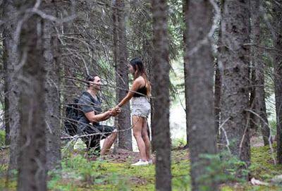 Rocky Dağları'nda evlenme teklifi (Brian & Clarianne)