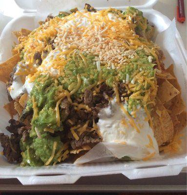 Carne asada nachos! | Yelp