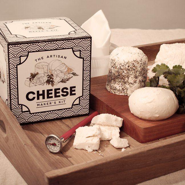 The Artisan Cheese Maker's Kit from Firebox.com