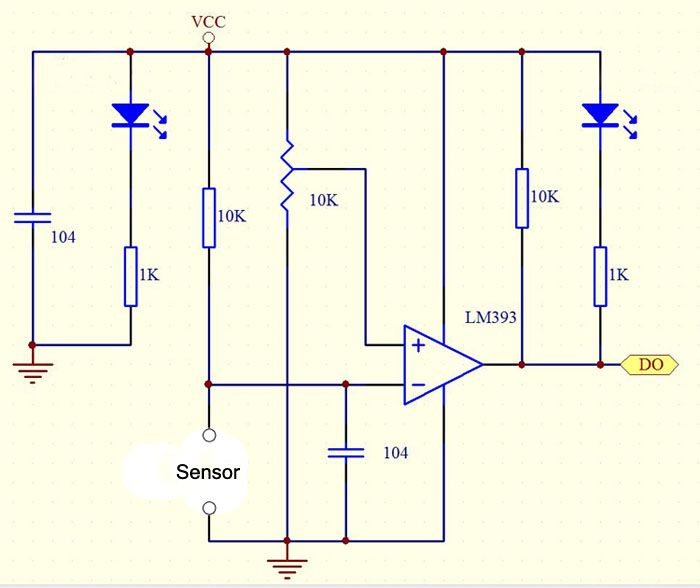 Soil Moisture Sensor Module Sensor Moisturizer Arduino