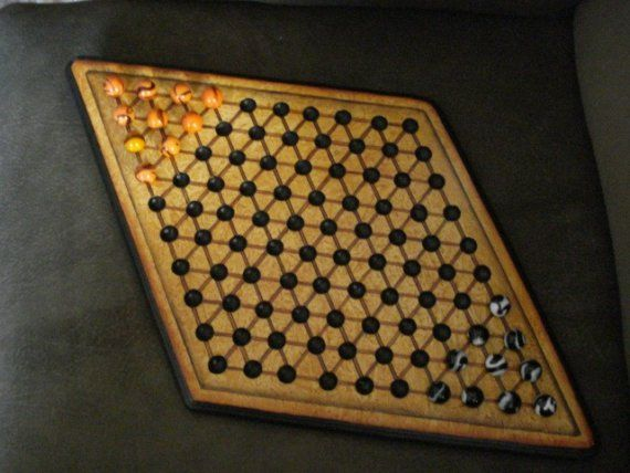 144 best shop projects game boards images on pinterest for Chinese checkers board template