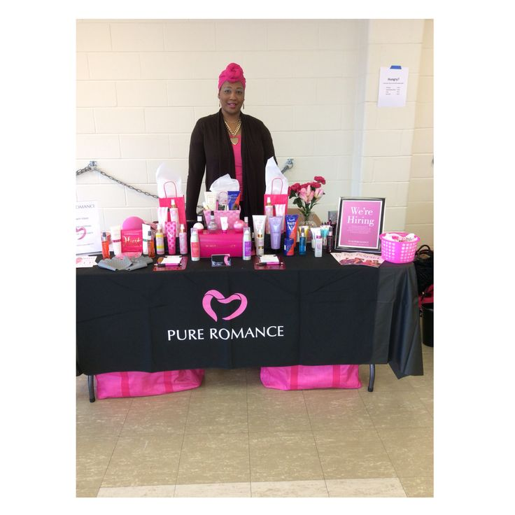 A professional vendor event with Pure Romance in attendance!