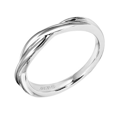 Delicate And Understated Twist Engagement Ringsmatching Wedding Bandssimple