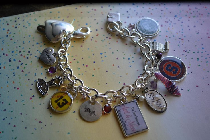 Custom Name, Custom Photo Frame, Custom Photo, Custom Photo Gifts, Photo Album, Photography, Charms, Charm Bracelet, Sterling Silver Charms by OneCharmingTreasure on Etsy