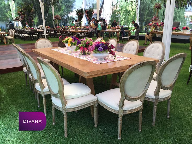 Mobiliario - Divana eventos - renta de sillas y mesas