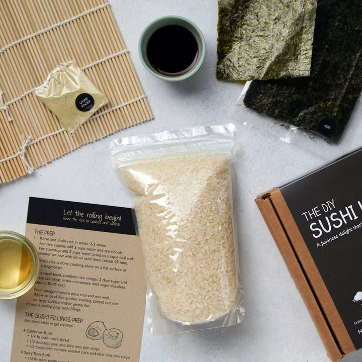 The best thing about sushi is that you can fill it with just about anything, so use the kit over and over againand get creative!