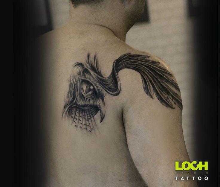 Zapraszam do zapisów tel. 508 273 224 lub e-mail.studio@loc... #tatuaż #lochstudiotatuażu #studio_tatuażu_warszawa #mokotów #loch_tattoo #salon_tatuażu #tatuażartystyczny #bark #oko #piekałkiewicza4 #studiotatu #pióra #tatuażnaplecach #tatuaż #lochtattoo #@Loch Studio Tattoo Tatuaże