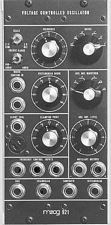 MU Module Moog 921 Oscillator from Moog Music Inc.
