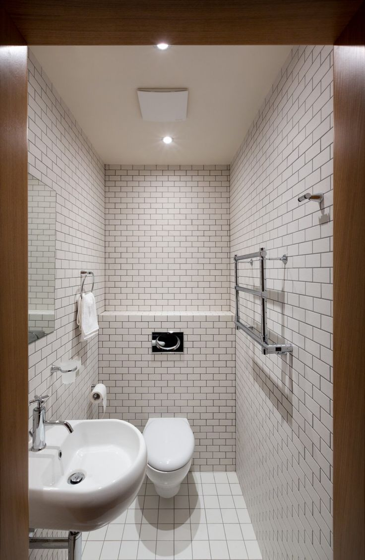 in Smart Design: Exquisite Small Toilet Room In Kiev Apartment Design ...