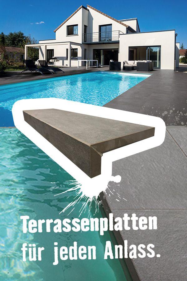 Egal Ob Am Pool Oder Fur Deinen Gehweg Terrassenplatten Fur Jeden