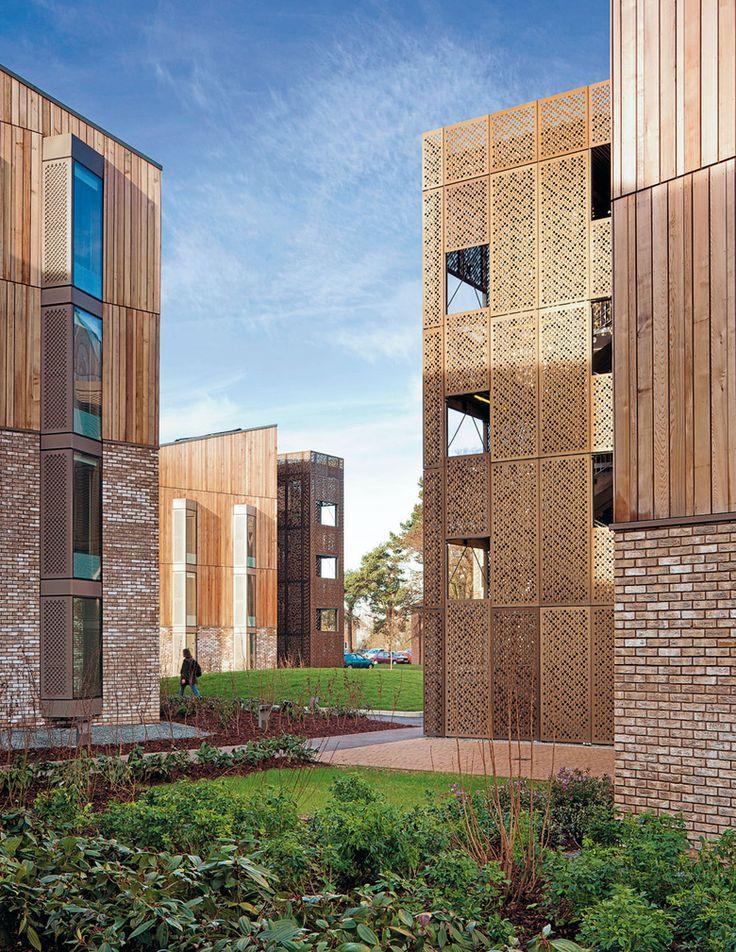 Studentenwohnheim Hertfordshire Hawkins Brown