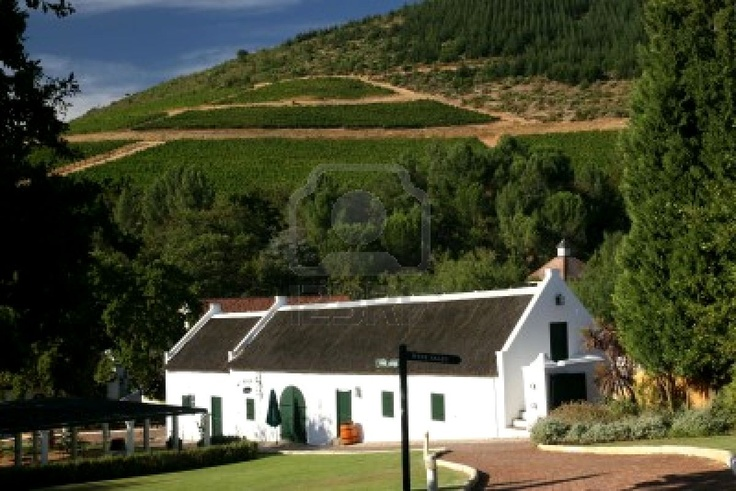 Wine Route. South Africa