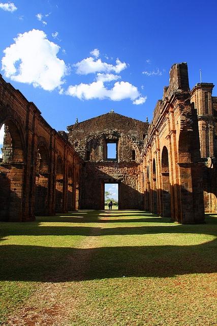 são miguel do arcanjo jesuit settlement ruins, são miguel das missões, by Miriam Cardoso de Souza