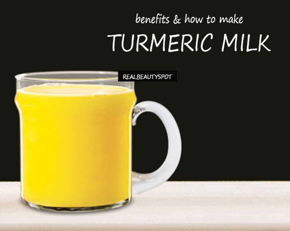 """GOLDEN MILK"" - A TURMERIC DRINK WITH PLENTY OF BENEFITS - Real Beauty Spot"