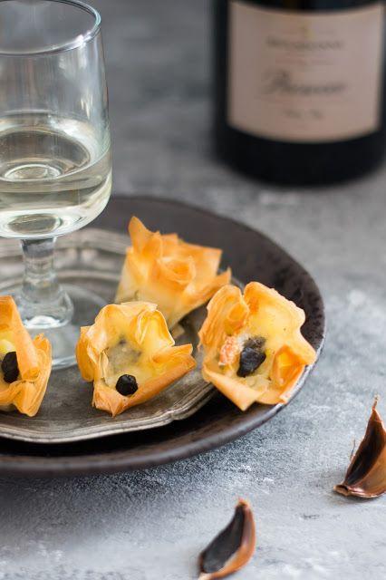 Escargots croustillants au Cantal pour l'apéritif