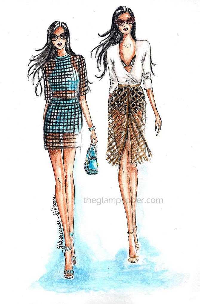 Tendenze moda estate| Prese nella rete | http://www.theglampepper.com/2015/08/25/tendenze-moda-estate-prese-nella-rete/