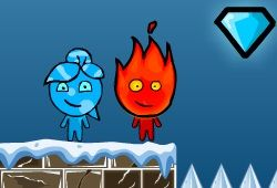 Крошечные духи Огонь и Вода отправляются в свои самые холодные приключения. Духи стихий направились на Северный Полюс для того, чтобы собрать немного новых энергетических кристаллов для своего лесного храма. Играйте бесплатно в эту игру на нашем сайте здесь http://woravel.ru/ogon-i-voda-holodnye-priklyucheniya/