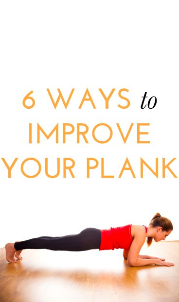 How to improve your plank via bustle.com and @womenshealthmag #fitness #joyfitness #wellbeing