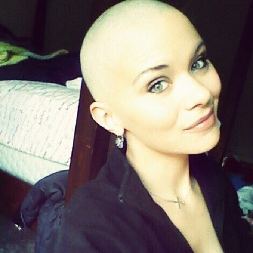 smooth shaved Girls head