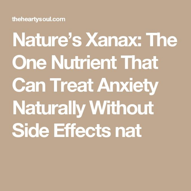 how to take xanax for anxiety